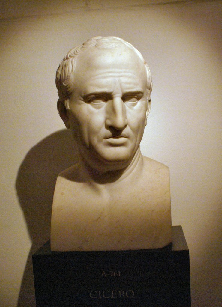 106-43 BC: Marcus Tullius Cicero