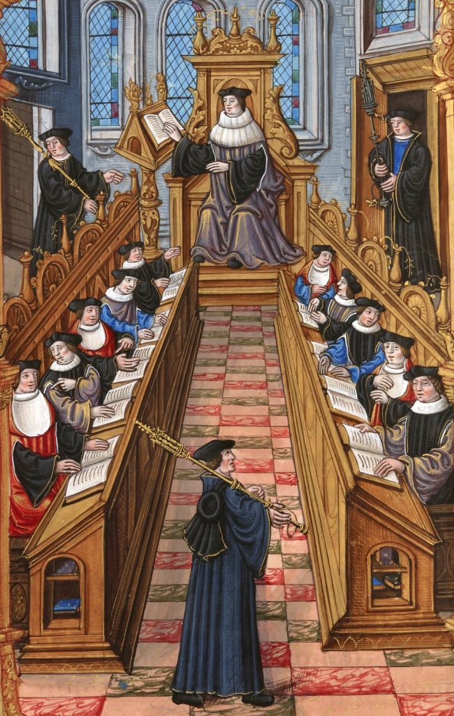 c. 1200: Birth of the European University
