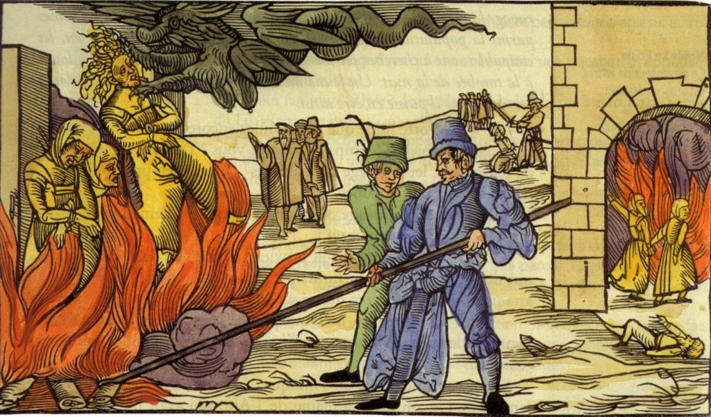 c. 1560: Witch hysteria