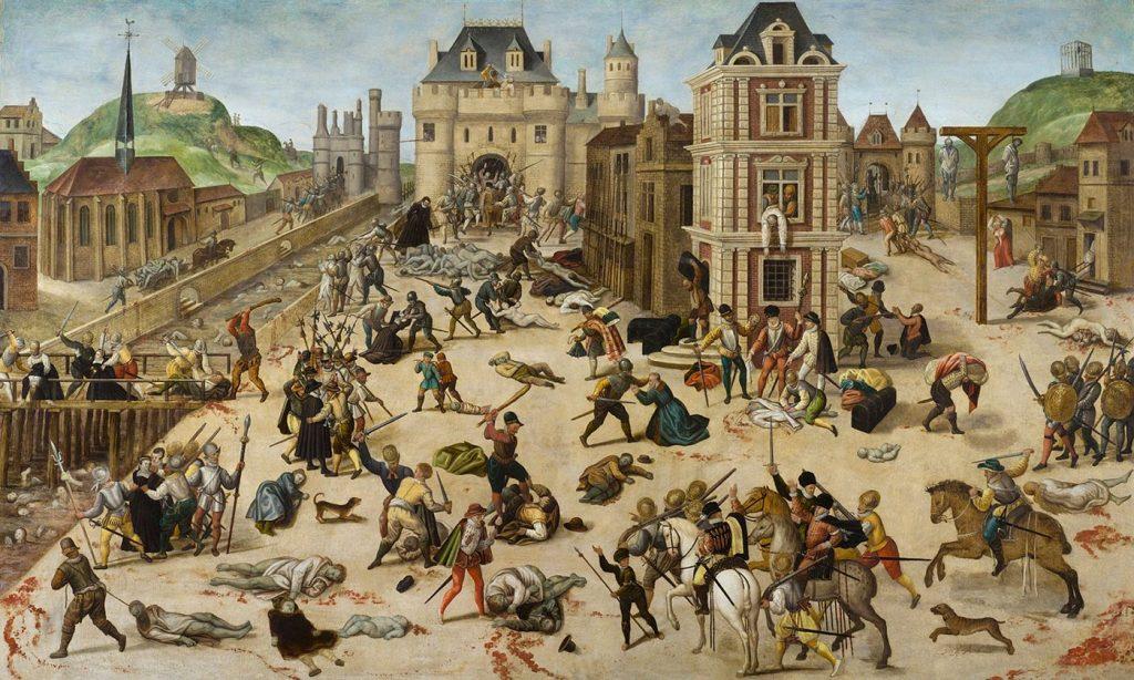 1572: The St. Bartholomew's Day Massacre