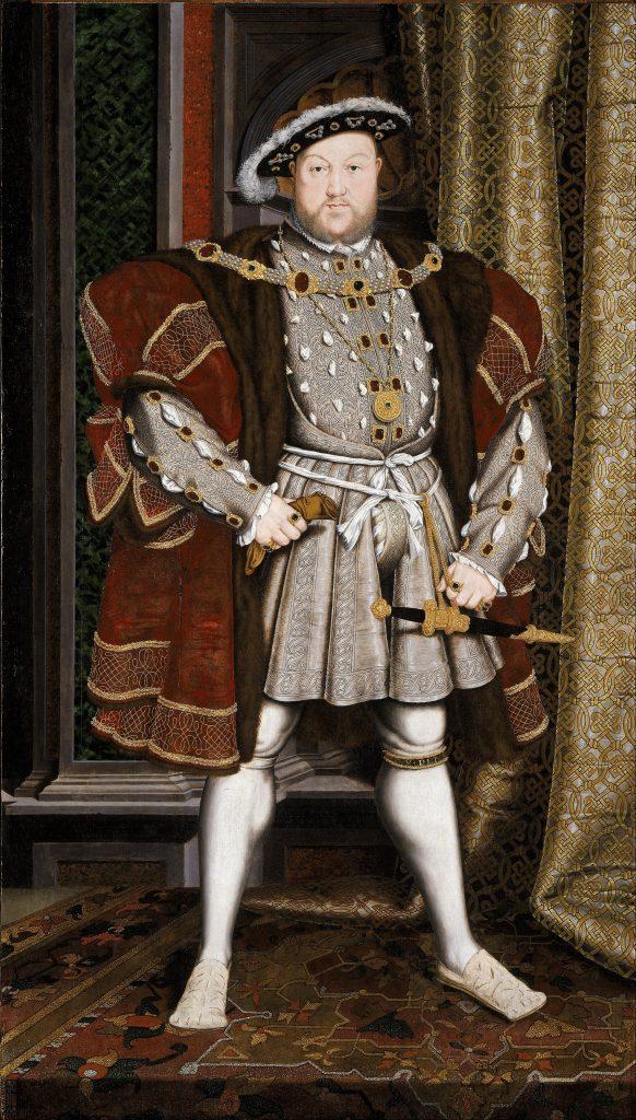 1509-1547: Henry VIII