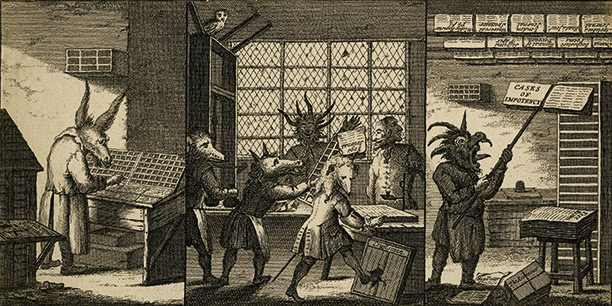 1662: The Licensing of the Press Act
