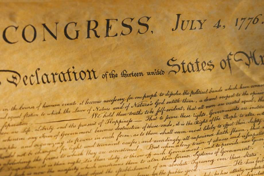 1776: United States Declaration of Independence