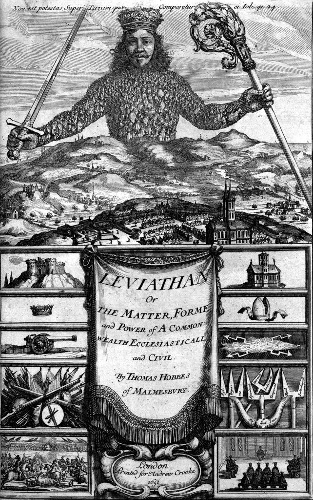 1651: Thomas Hobbes' Leviathan
