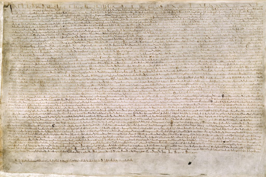 1215: Magna Carta